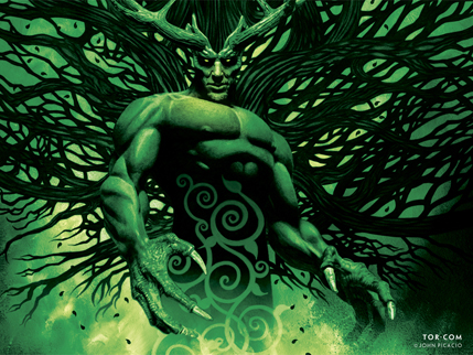 Get A Green Man For Your Wall | Mark Chadbourn